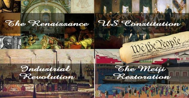 Những cuộc cách mạng suy tưởng thay đổi lịch sử thế giới