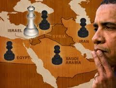 """...đến thay đổi chính sách ở Trung Đông. Giảm quyền lực tuyệt đối của Itsrael vốn được xem là """"đứa em được nuông chiều của Mỹ"""" để khu vực này có sự ổn định"""